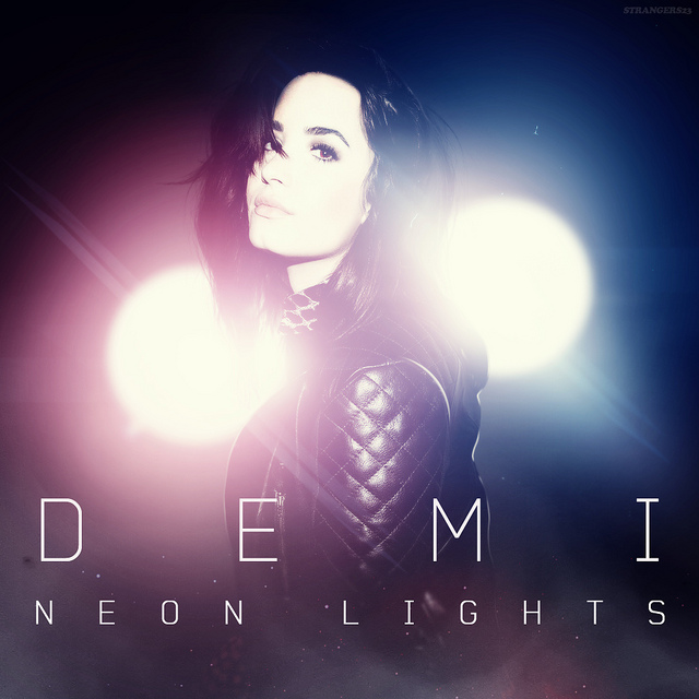 demi lovatoneon lights tour�� demi lovato photo
