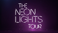 Neon Lights tour logo - demi-lovato photo