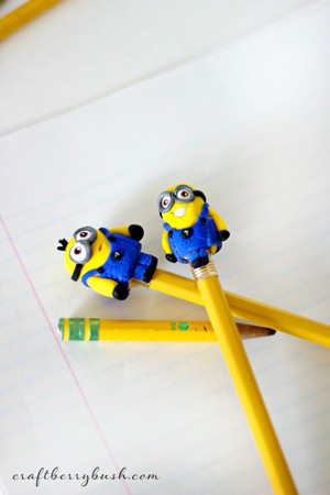 Despicable Me - Minion - Pencil topper