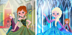 Frozen: Anna's Act of Love/Elsa's Icy Magic