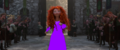 Merida dressed in purple - disney-princess fan art