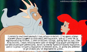 'The Little Mermaid' Tumblr Confession
