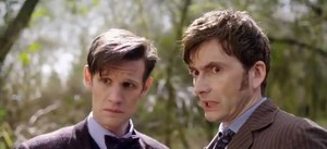 Doctor Who 50th 预览 Image, eleven and ten