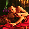 Dracula NBC foto probably containing a drawing room, a drawing room, and a parlor called Drcula/Alexander & Lady Jayne 1X03