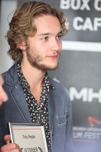 Toby Regbo wallpaper containing a business suit called Edinburgh International Film Festival '13