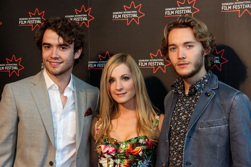 Toby Regbo wallpaper containing a business suit titled Edinburgh International Film Festival - UWantMeToKillHim Photocall