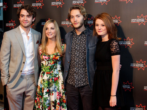 Toby Regbo wallpaper containing a bridesmaid called Edinburgh International Film Festival - UWantMeToKillHim Photocall