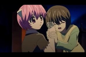 Elfen Lied Screencaps