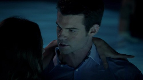 """Elijah & Hayley wallpaper titled Elijah & Hayley in The Originals 1x06 """"Fruit of the Poisoned Tree"""""""