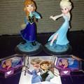 Anna and Elsa Disney Infinity Figures