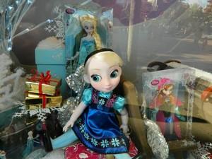 アナと雪の女王 showcase at Disneyland Paris