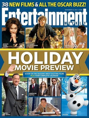 Entertainment Weekly's Holiday Filem pratonton issue!