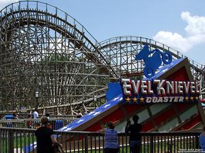 Evel Knievel coaster