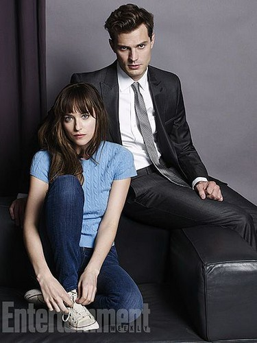 Fifty Shades of Grey wallpaper containing a business suit, a suit, and a well dressed person called Fifty Shades of Grey First Character Photos from Entertainment Weekly