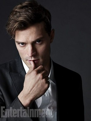 Jamie Dornan first 사진 as Christian Grey from Entertainment Weekly