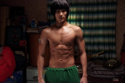 Kim SooHyun wallpaper probably with a hunk and a six pack titled Film Kim Soo Hyun 'Secretly Greatly'