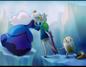 Fionna and Ice কুইন :D