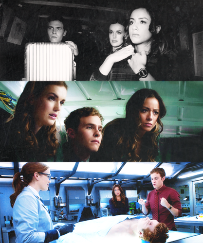 FitzSimmons wallpaper probably with a hot tub titled 【Fitzsimmons & Skye】