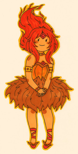 Flame Princess.