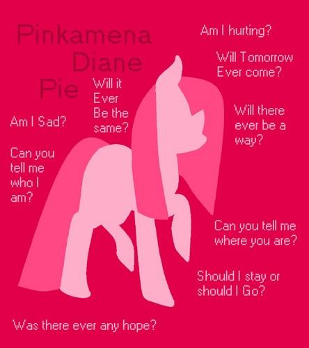 Pinkie Pie CreepyPasta karatasi la kupamba ukuta containing anime entitled Found on Googel