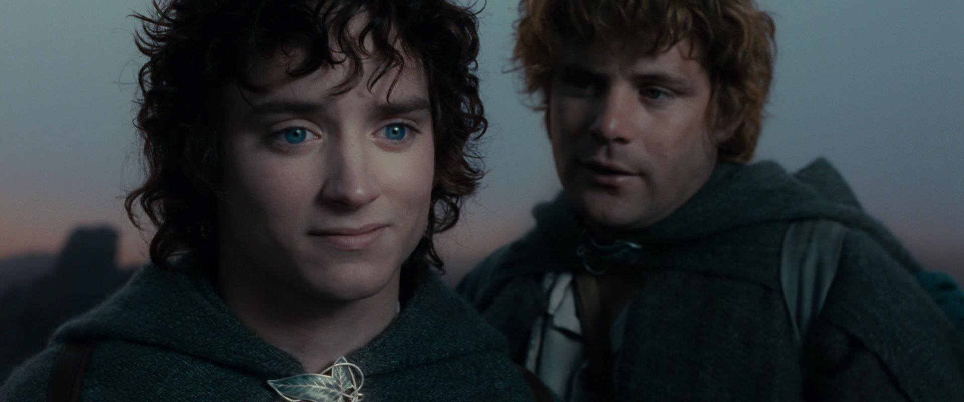 a focus on the main character frodo baggins in the story of hobbit