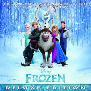 Frozen - Uma Aventura Congelante UK Deluxe Edition Soundtrack Cover