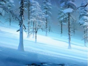 アナと雪の女王 digital painter backgrounds