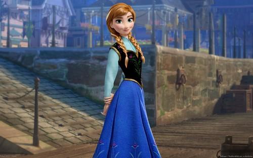 Frozen achtergrond called Anna achtergrond