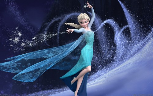 《冰雪奇缘》 壁纸 called Elsa 壁纸