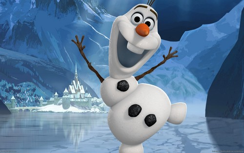 Frozen wallpaper entitled Olaf wallpaper