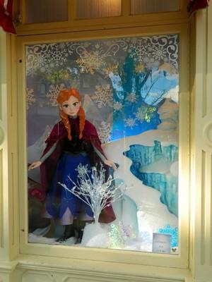 La Reine des Neiges showcase at Disneyland Paris