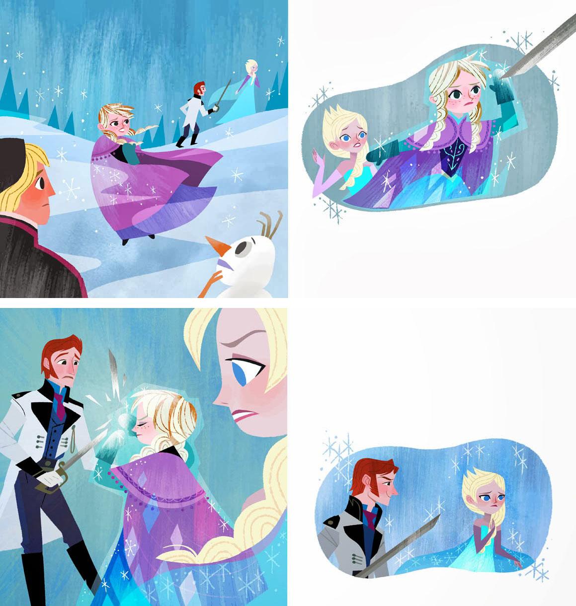 Frozen: Anna's Act of Love/Elsa's Icy Magic