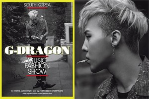 G Dragon L'Uomo Vogue, November 2013