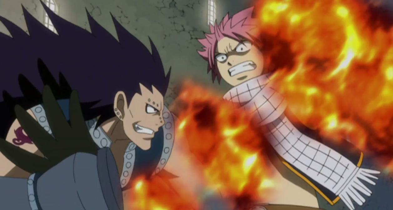 Image - Natsu catches his breath.jpg | Fairy Tail Wiki | FANDOM ...