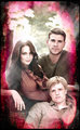 Gale, Peeta and Katniss - the-hunger-games-movie fan art