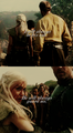 Daenerys Targaryen & Jorah Mormont - game-of-thrones fan art