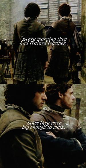 Robb Stark & Jon Snow