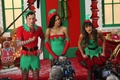 Glee Cast filming Season 5 Christmas Episode - glee photo