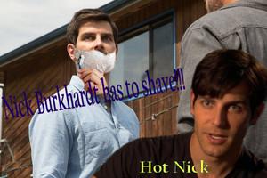 Grimm - Season 3 - Nick Burkhardt has to shave!!!
