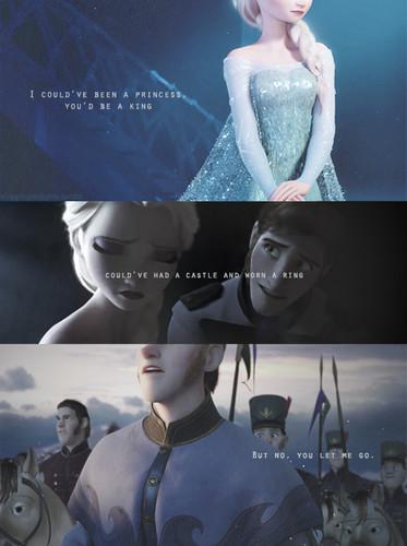 Hans hình nền titled Hans and Elsa