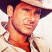 Harrison Ford as Indiana Jones - harrison-ford icon