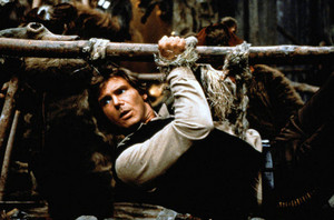 Harrison Ford in ster Wars: Return of the Jedi