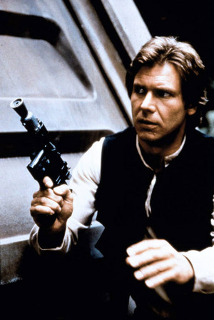 Harrison Ford in étoile, star Wars: Return of the Jedi