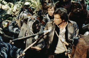 Harrison Ford in Star Wars: Return of the Jedi