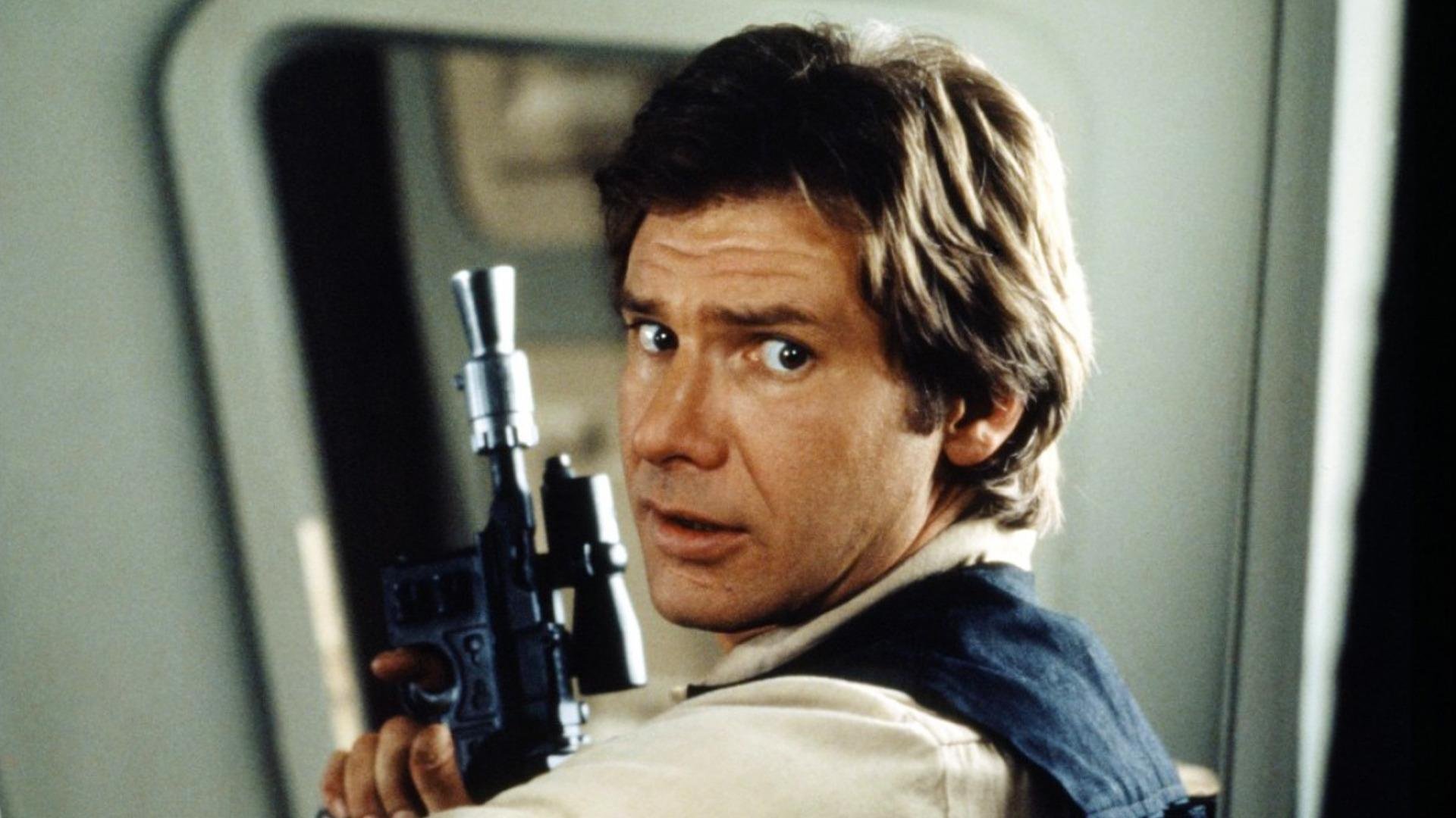 Harrison Ford in estrela Wars: Return of the Jedi