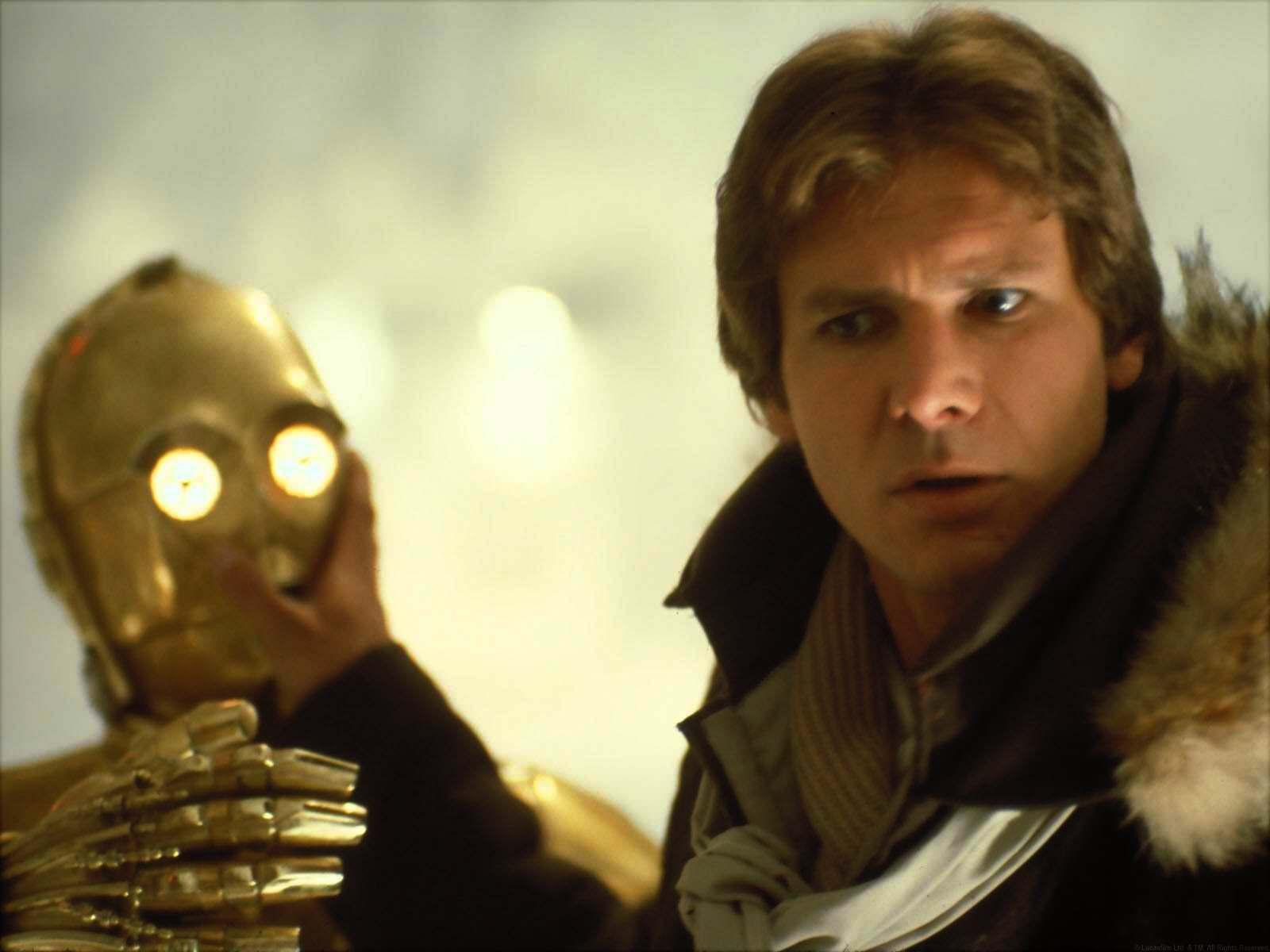 Harrison in 星, つ星 Wars:Empire strikes back