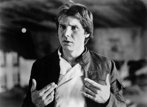 Harrison Ford achtergrond called Harrison in ster Wars:Empire strikes back