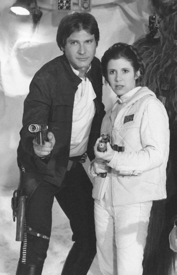 Harrison in stella, star Wars:Empire strikes back