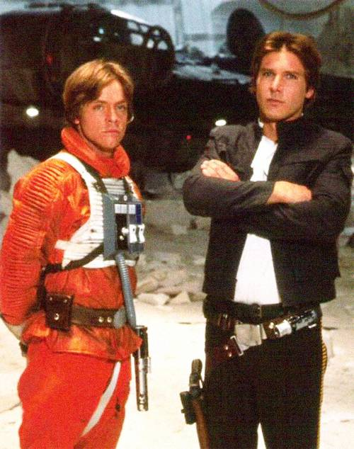 Harrison in ster Wars:Empire strikes back