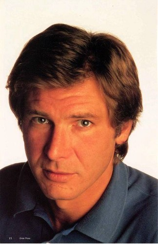 Harrison Ford achtergrond with a portrait titled Harry